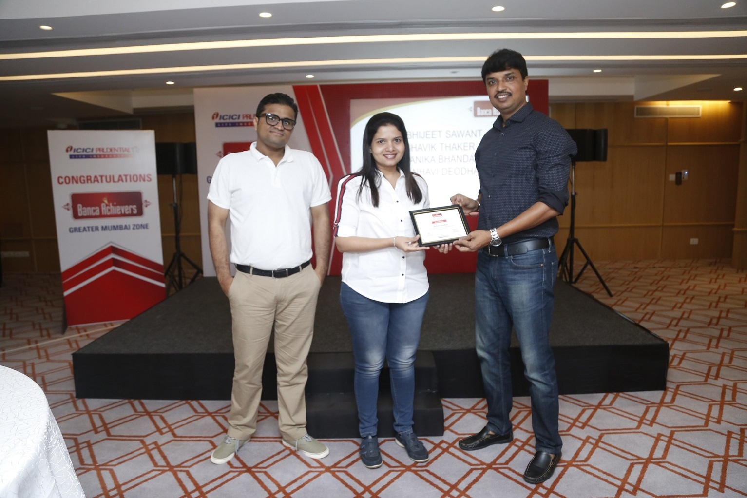 ICICI Prudential Life Insurance: Banca Achievers